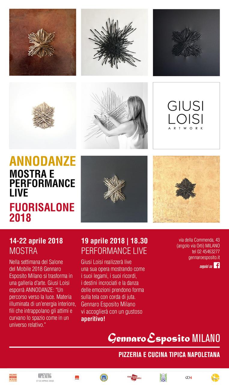 Annodanze Performance Live Giusi Loisi
