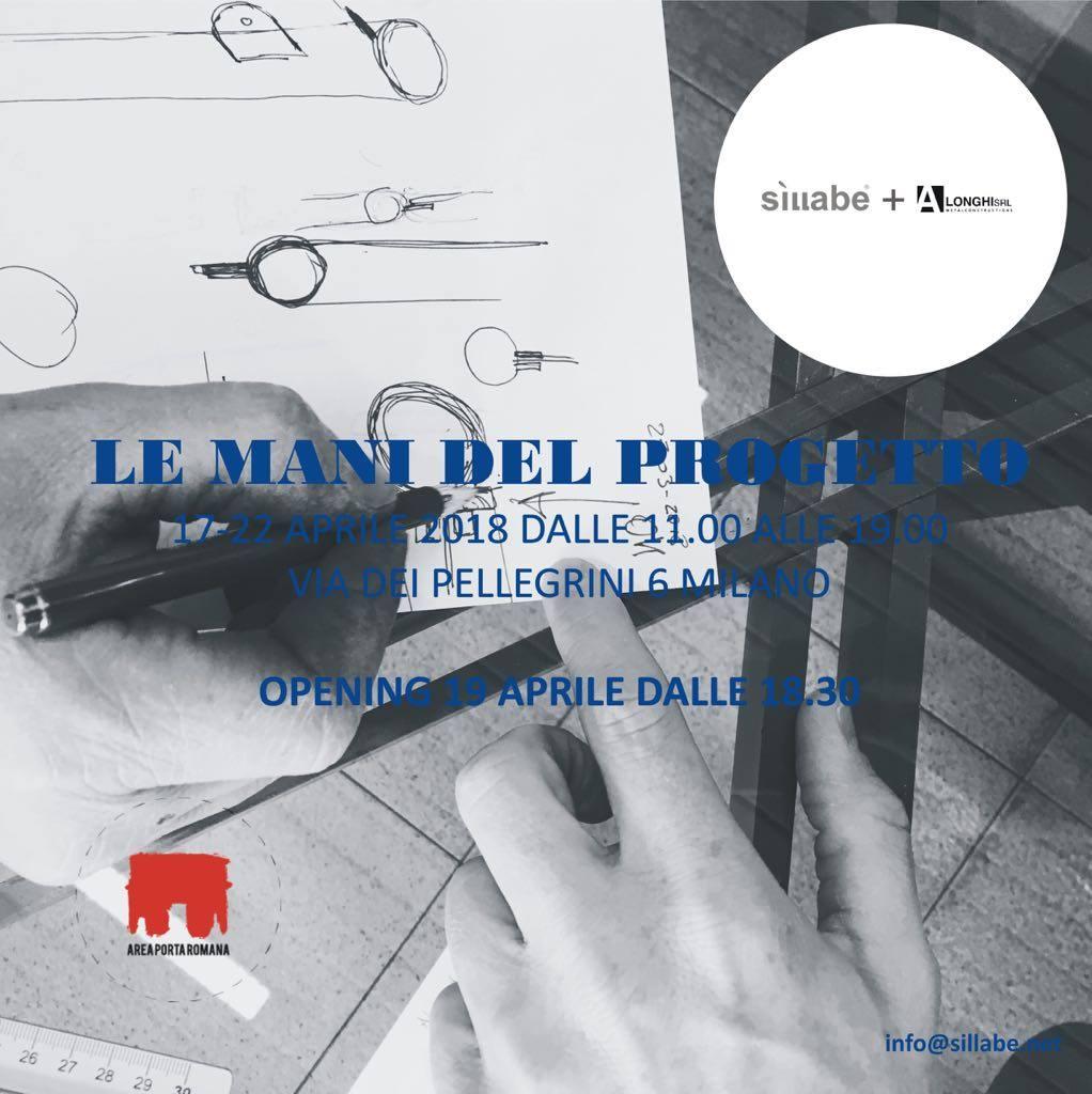 Le mani del progetto: progetti di design di Sillabe e Andrea Longhi